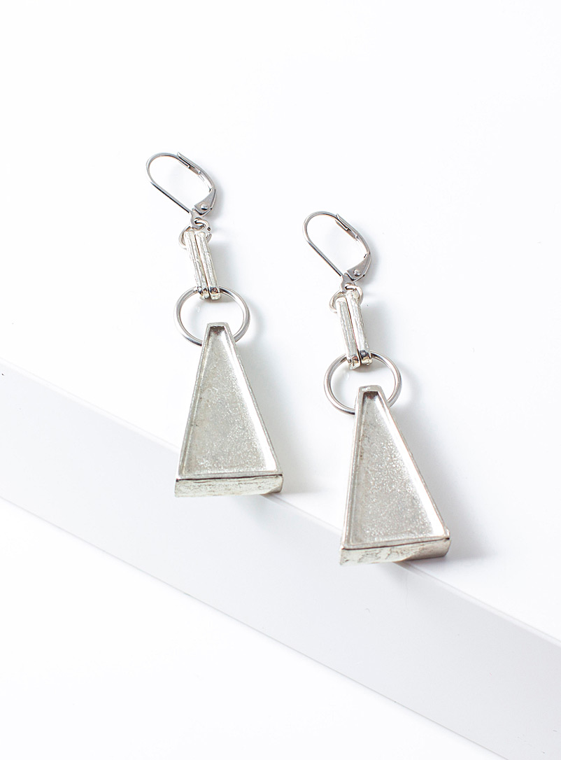 Anne-Marie Chagnon Tin Nando earrings