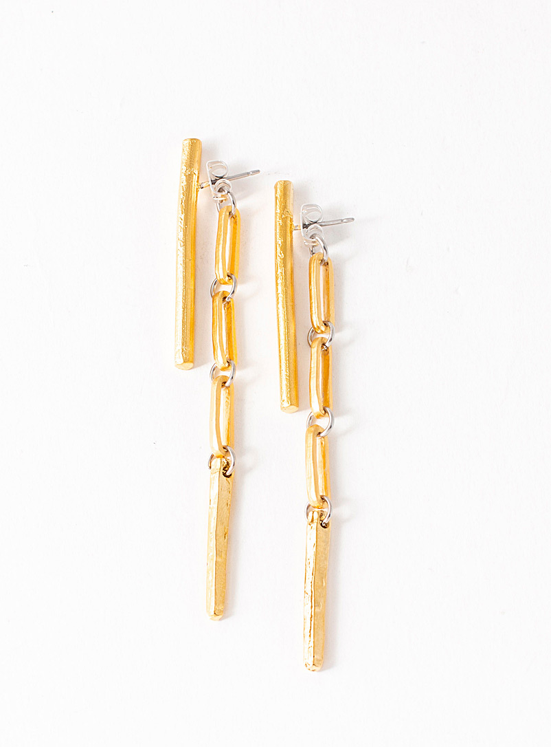 Anne-Marie Chagnon Gold Narnia earrings
