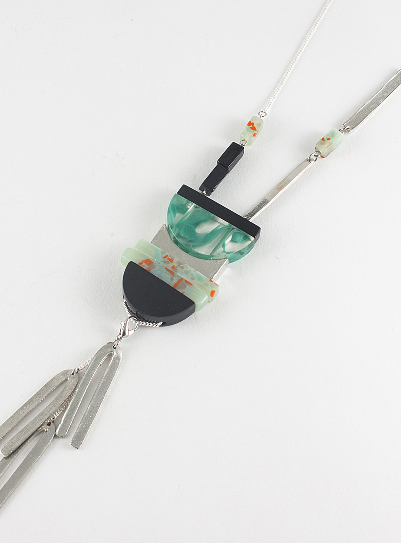 Raquel necklace - Anne-Marie Chagnon - Teal