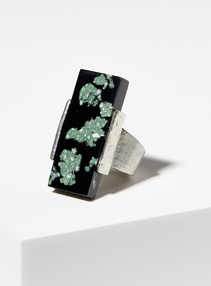Savory ring - Anne-Marie Chagnon - Bottle Green