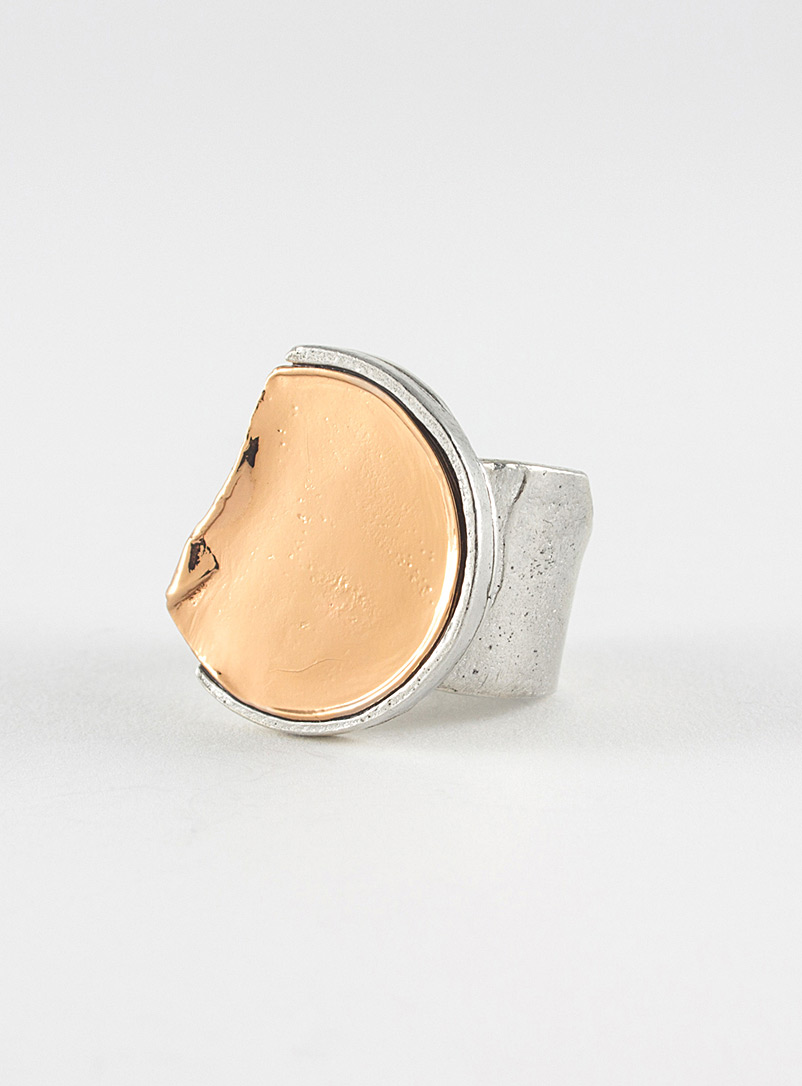 Sukie ring - Anne-Marie Chagnon - Amber Bronze