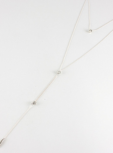 Emmy multi-chain necklace