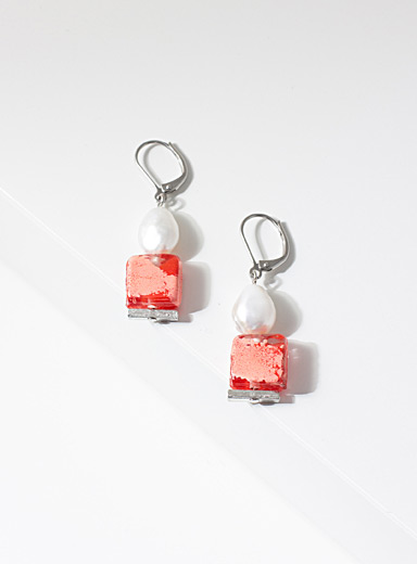 Anne-Marie Chagnon Red Clara earrings