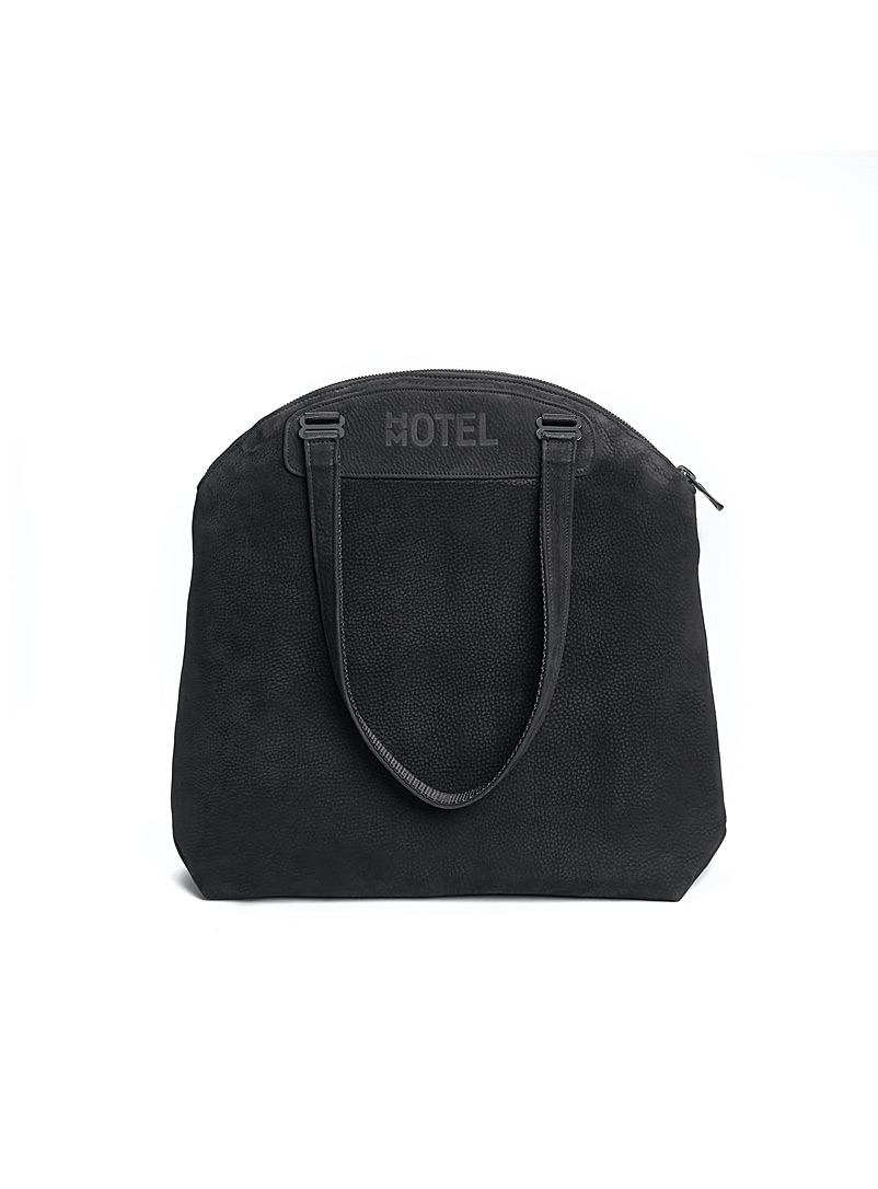 HotelMotel Marine Blue Continental tote bag