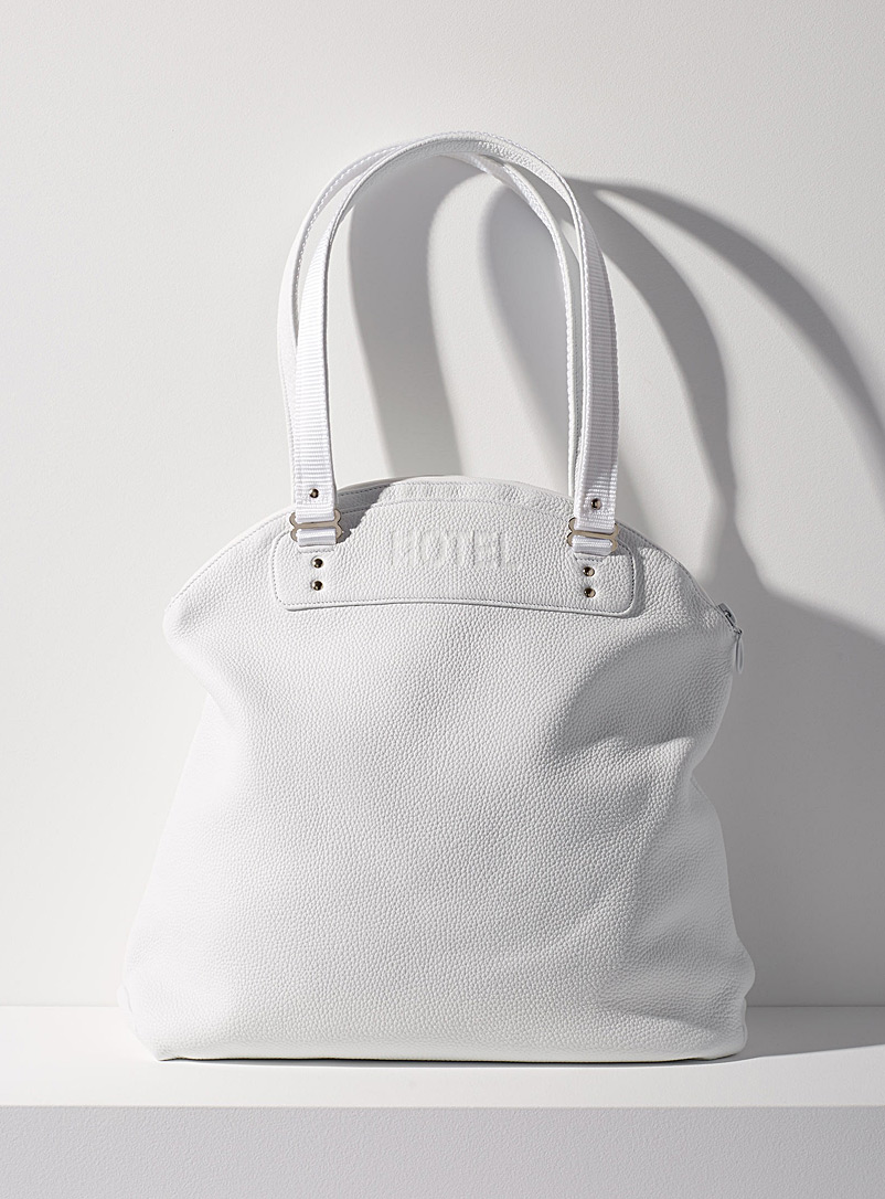 Continental tote bag - HOTELMOTEL - White