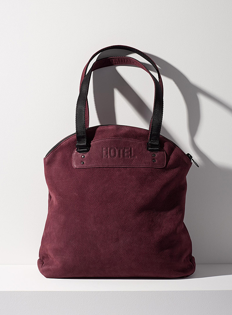 Continental tote bag - HOTELMOTEL - Ruby Red