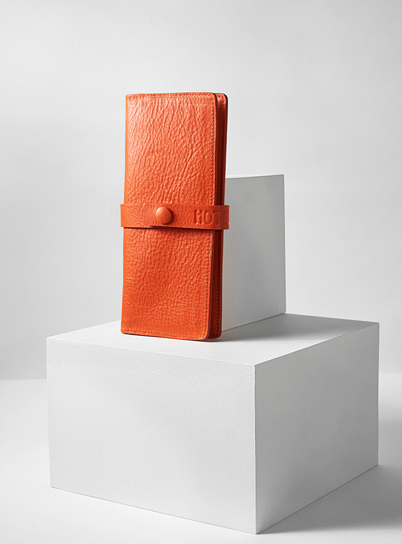 HotelMotel Orange Queen wallet
