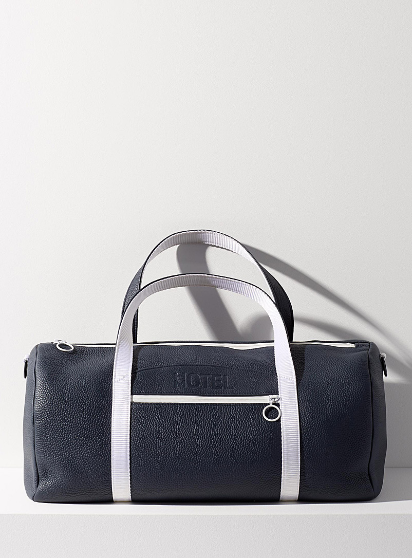 HOTELMOTEL Marine Blue Super 8 weekender bag