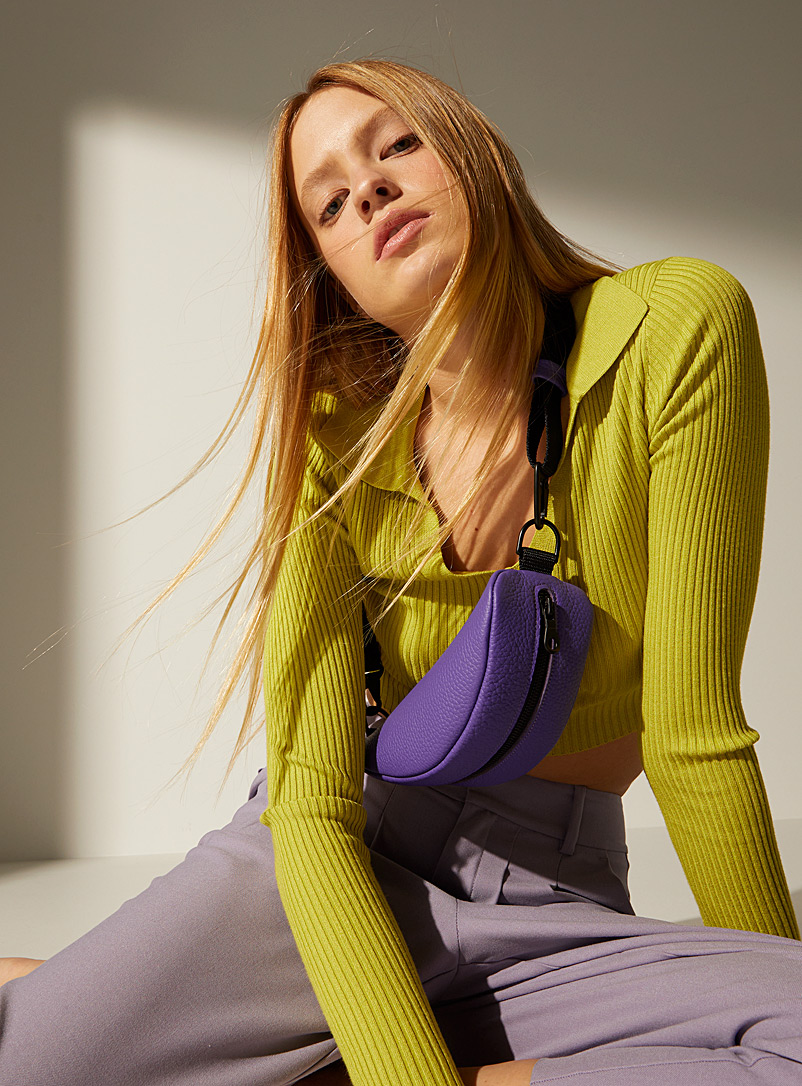 HotelMotel Green Taco belt bag