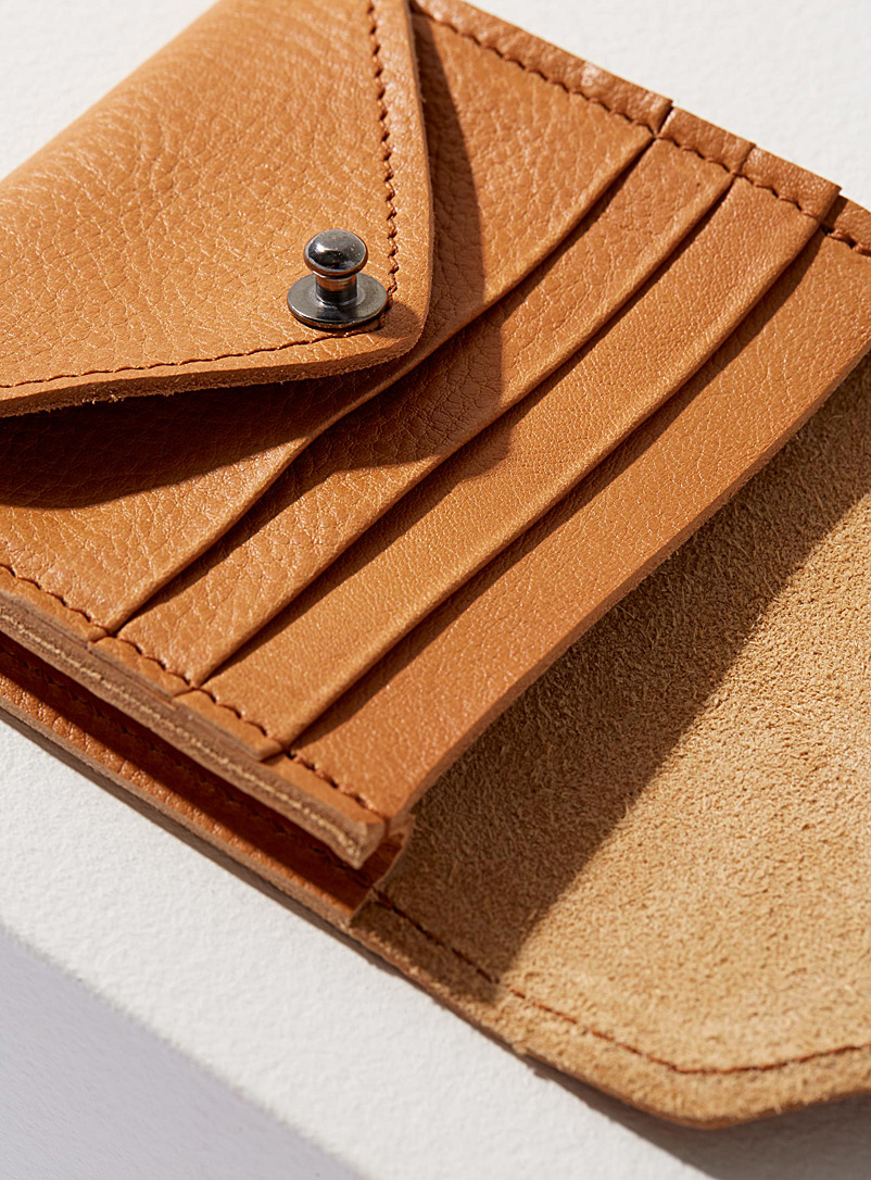 HotelMotel Honey Leather envelope wallet