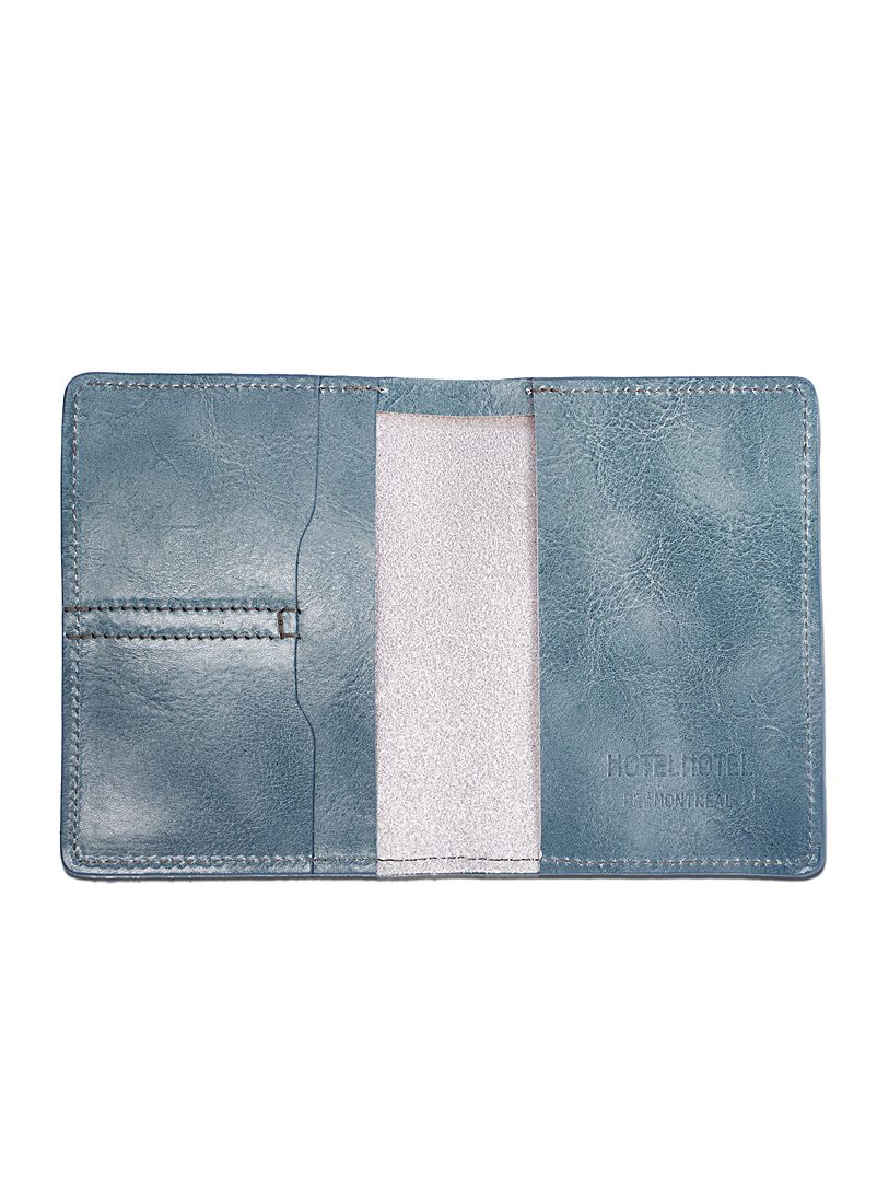 Voyager passport holder - HOTELMOTEL - Blue