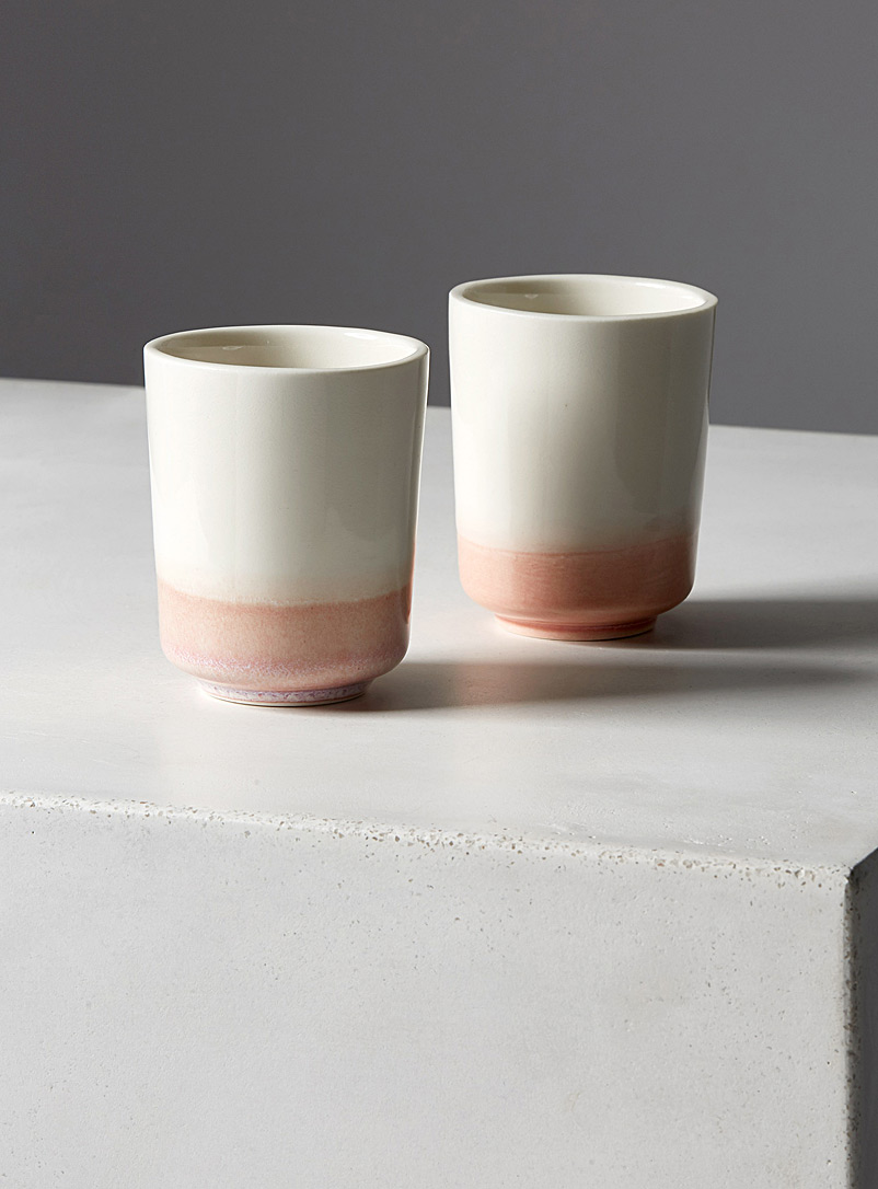 Espresso cups  Set of 2 - Jarre - Pink