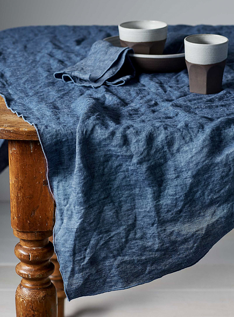chambray-linen-tablecloth