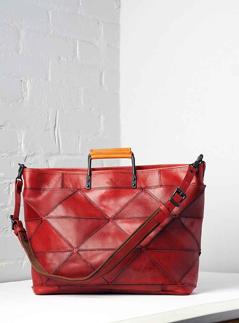 Uppdoo Red Origami XL tote