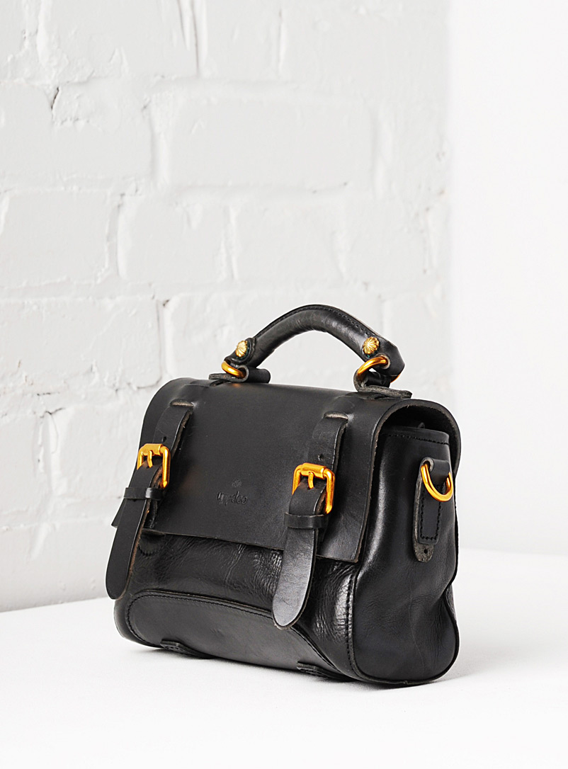 Uppdoo Black Pixie mini shoulder bag