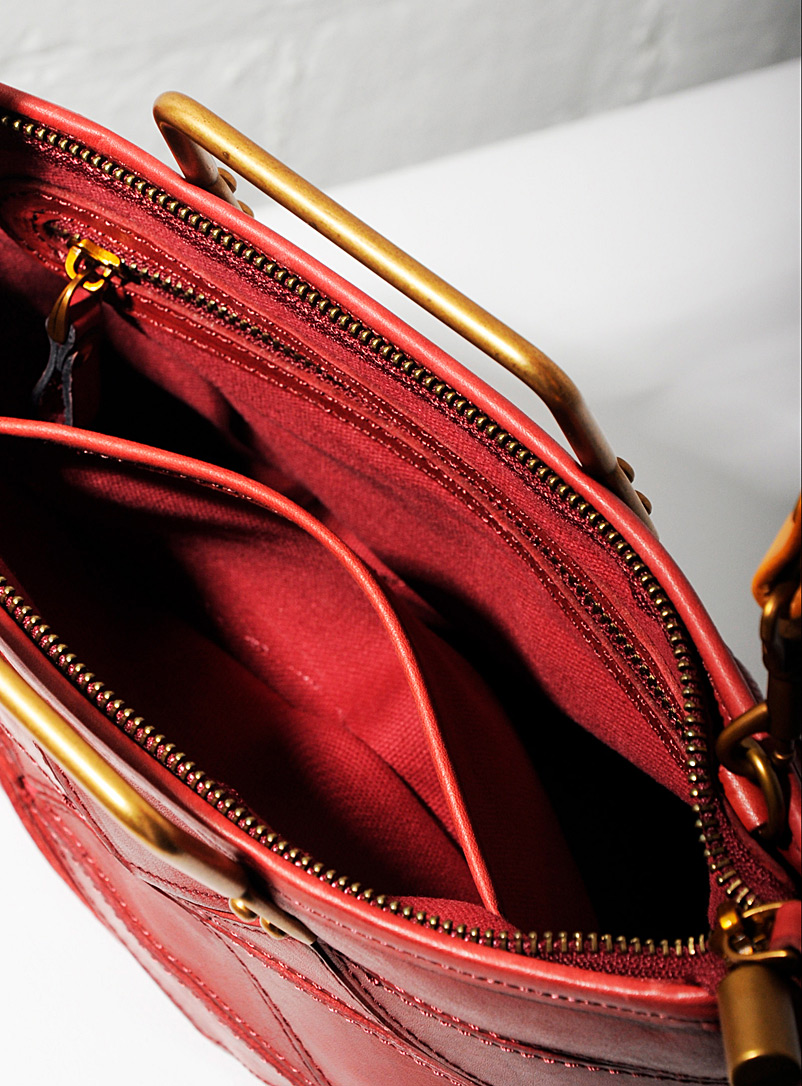 Origami small tote - Uppdoo - Ruby Red