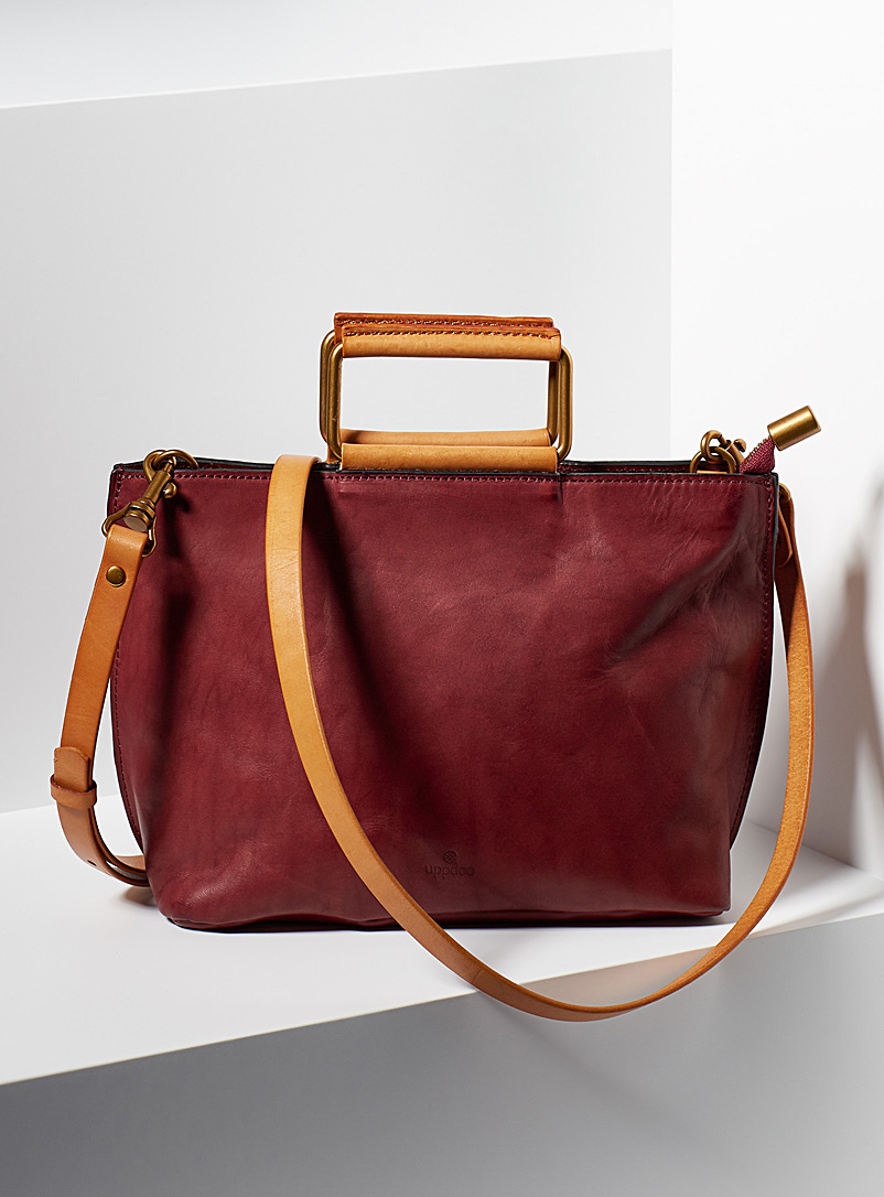 Uppdoo Ruby Red Joy mini tote
