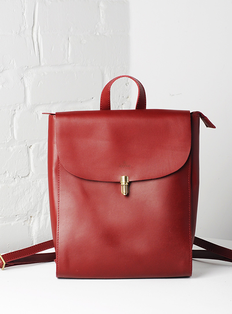Voyage convertible backpack - Uppdoo - Red