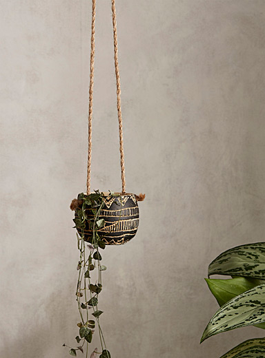 Amazon pattern small hanging planter