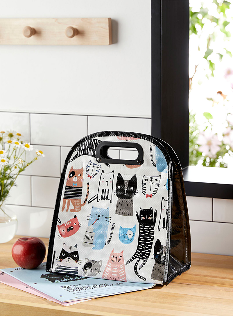 Simons Maison Assorted Cats lunch bag