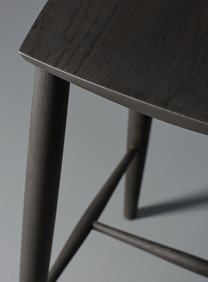 Palmerston stool - Coolican & Company - Black