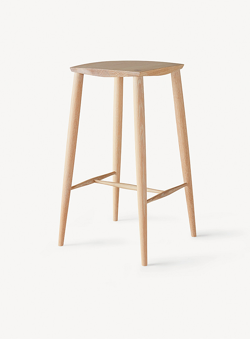 Coolican & Company White Palmerston stool
