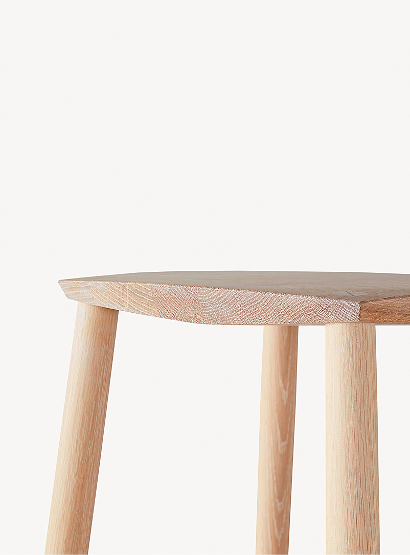 Le tabouret Palmerston - Coolican & Company - Blanc