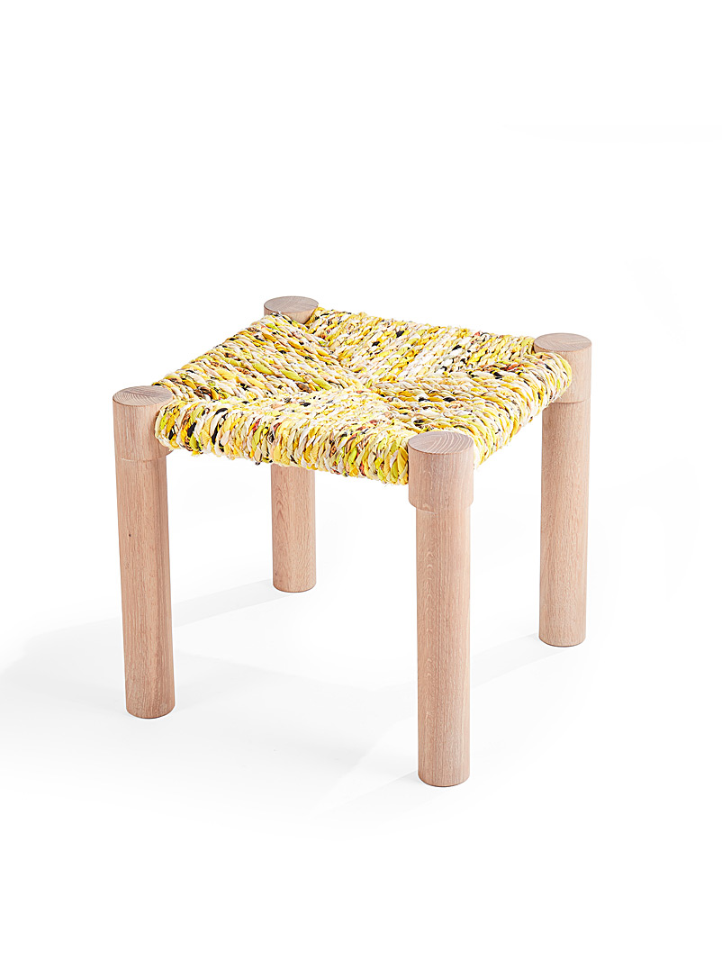 Coolican & Company Dark Yellow Calla stool