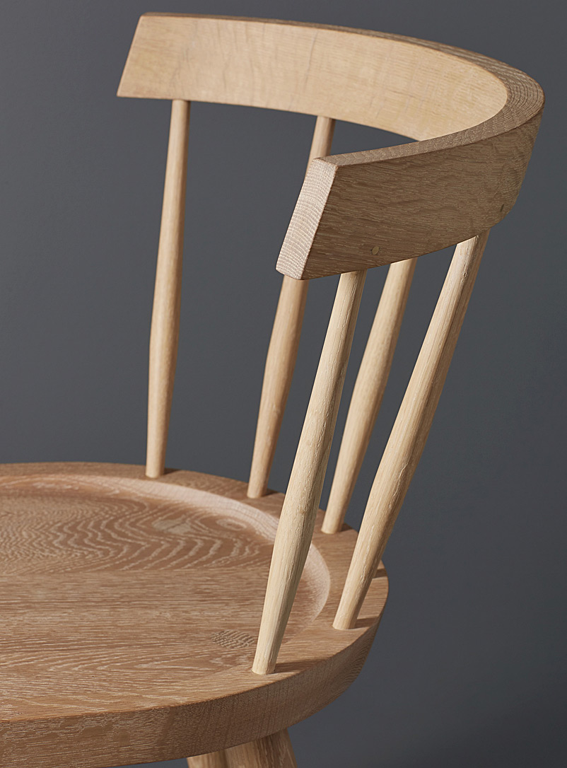 Edwin chair - Coolican & Company - Natural Oak Wood