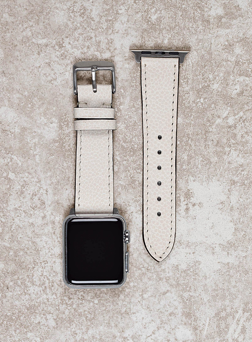 Diametris White Aspen Apple Watch band