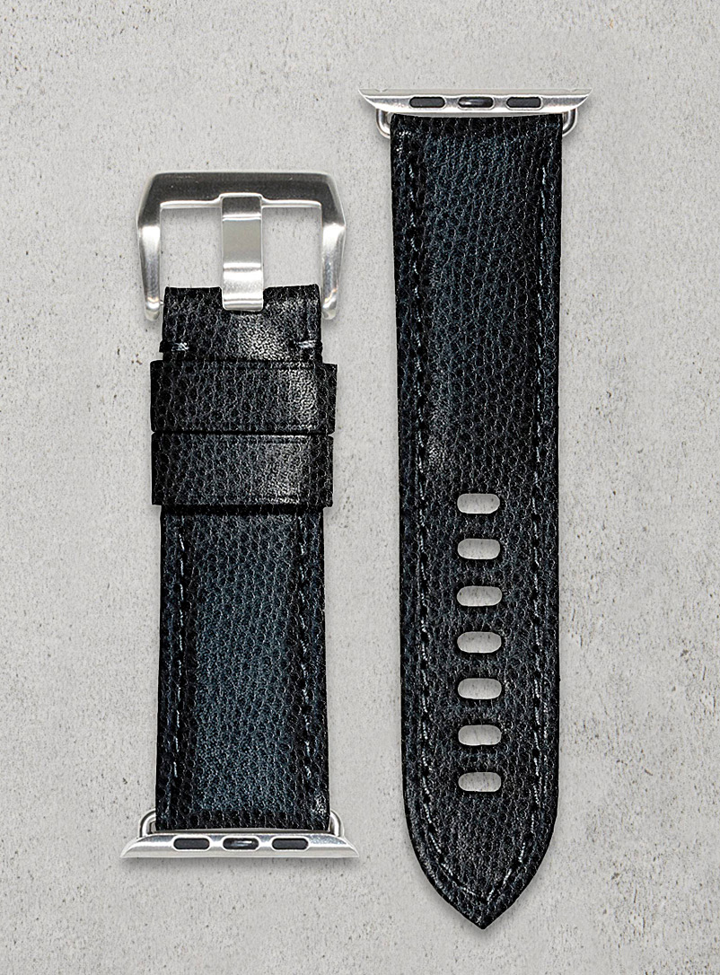 Smart black watch band - Diametris