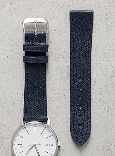 Impeccable blue or coral watch band