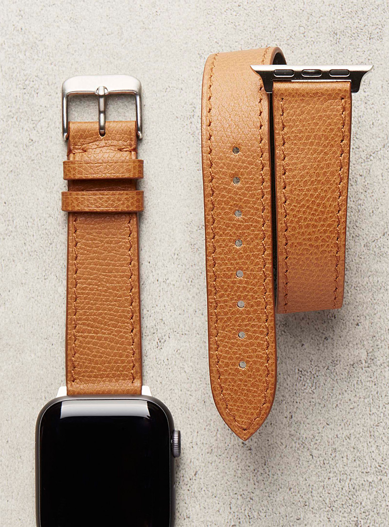 Smart double-wrap watch strap