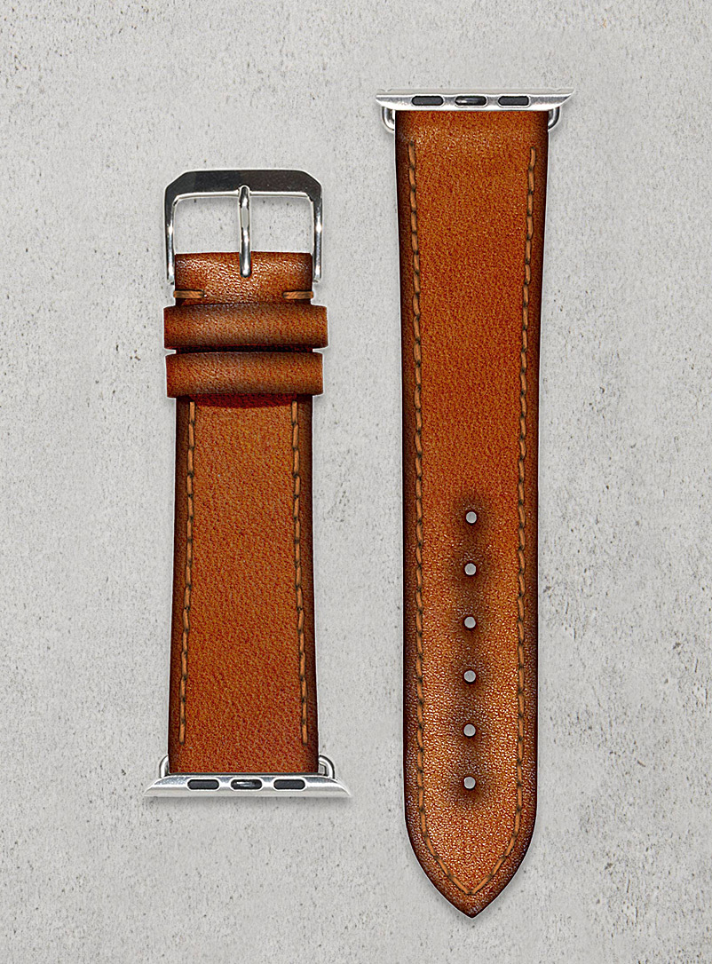 Smart vintage fox watch band - Diametris - Brown
