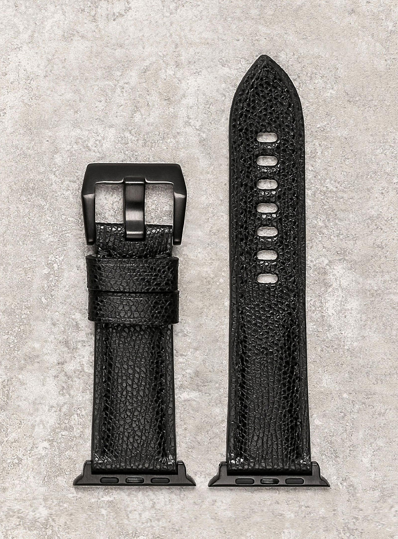 Diametris: Le bracelet de montre Smart Major noir Noir
