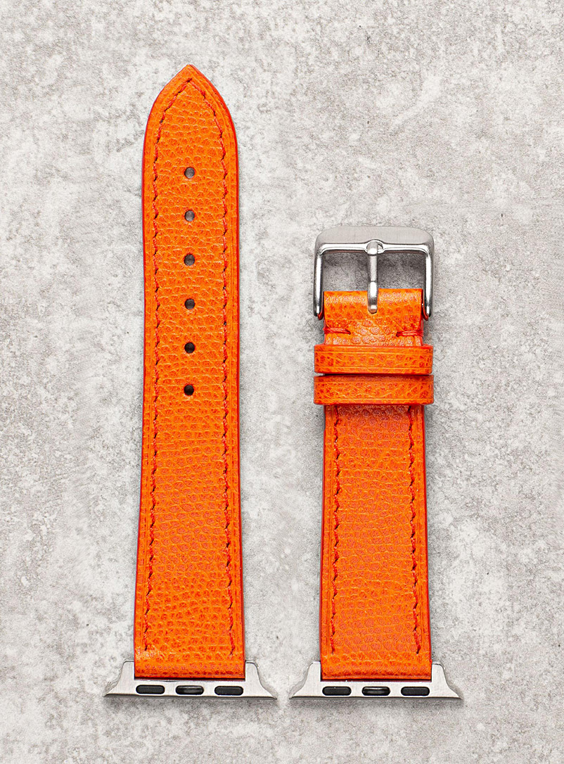 Diametris Orange Smart black watch band for women