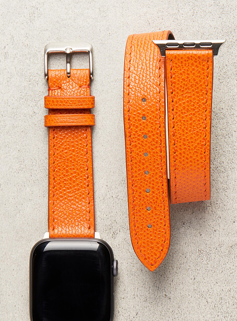 Diametris Orange Smart double-wrap watch strap