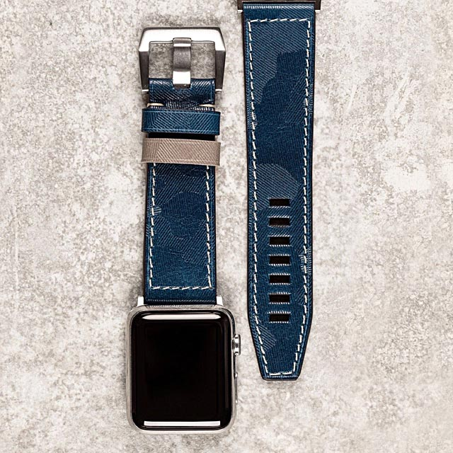 major-blue-camouflage-leather-apple-watch-band