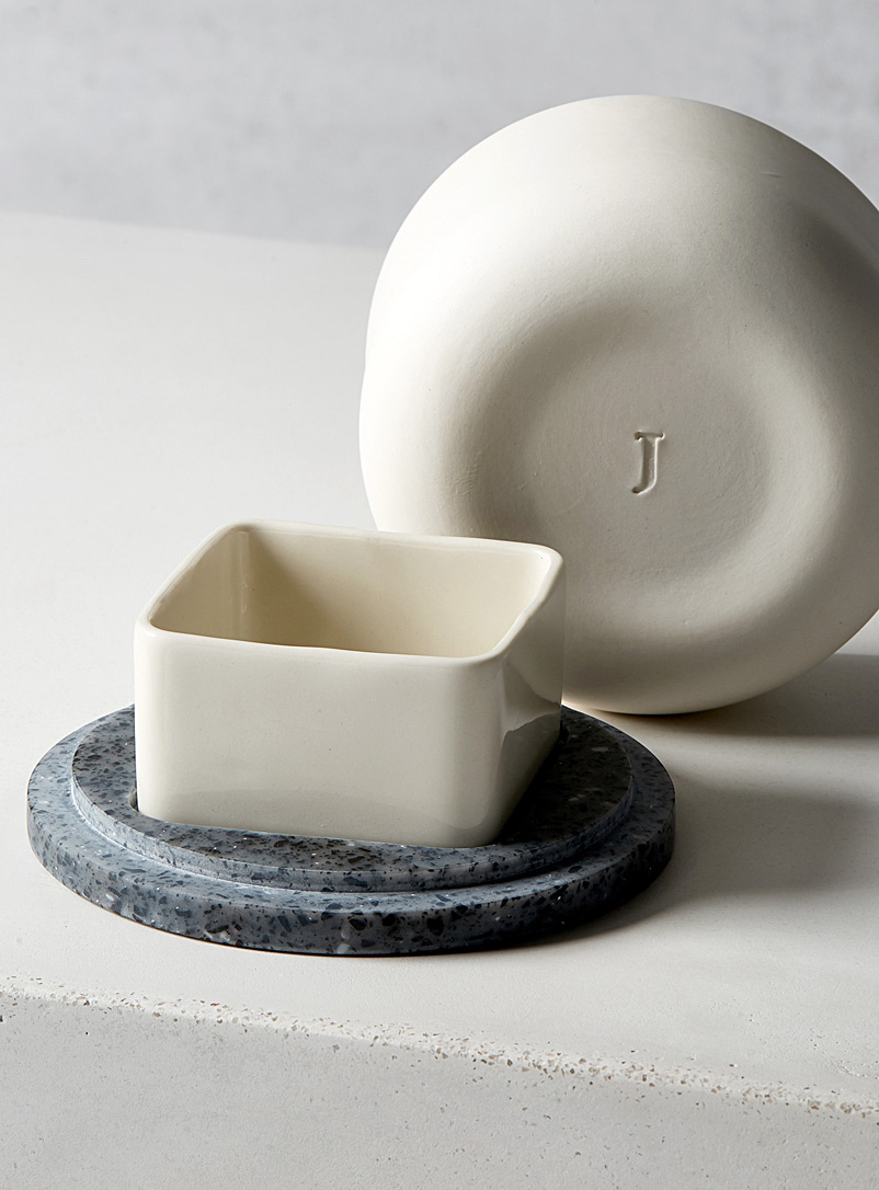 French butter dish - Kitchen & Dining - Grey