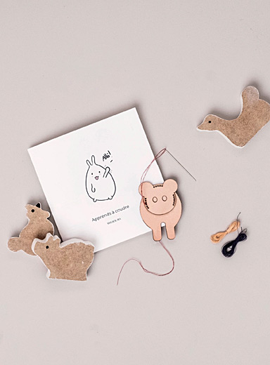 Miljours Pink Creative Learn how to sew your cute companion set