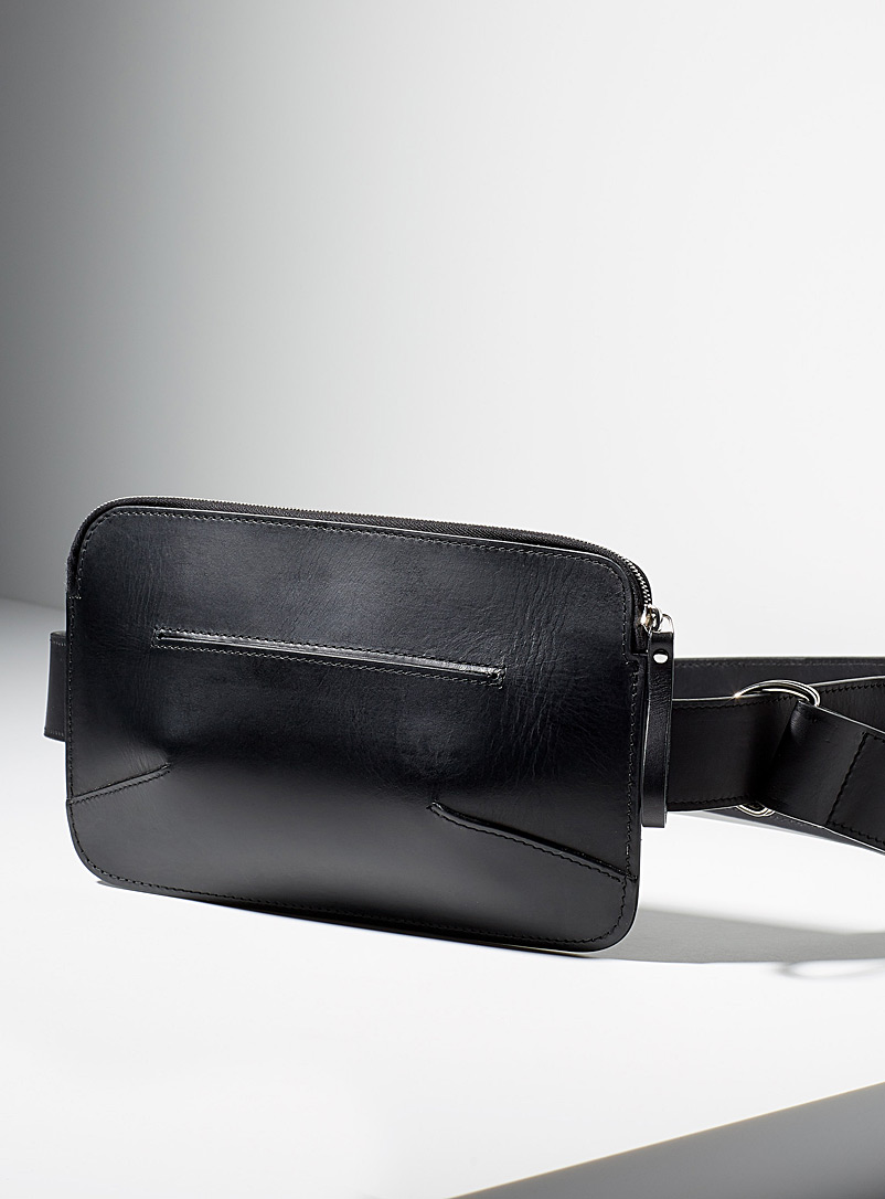 Lykke belt bag - Miljours - Black