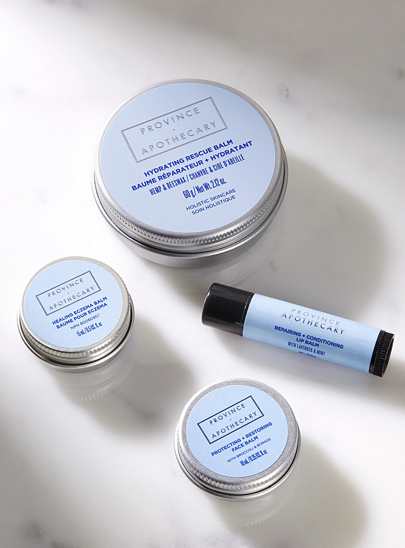 Province Apothecary Baby Blue Winter Balm Bundle