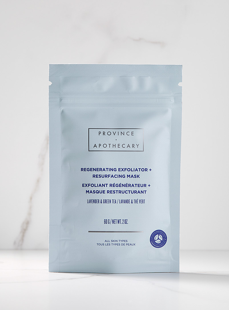 Province Apothecary Assorted Regenerating and stimulating exfoliator