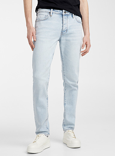 NEUW DENIM Baby Blue Lou bleached jean  Slim fit for men