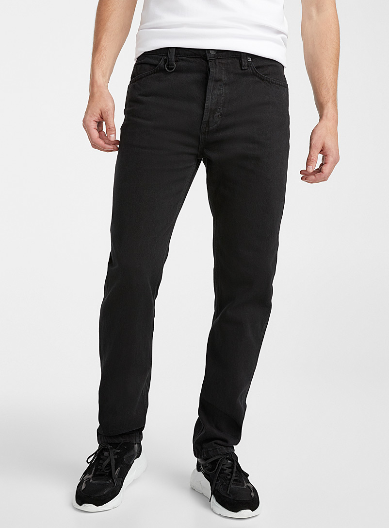 Reid Baggy Zero black jean  Straight fit