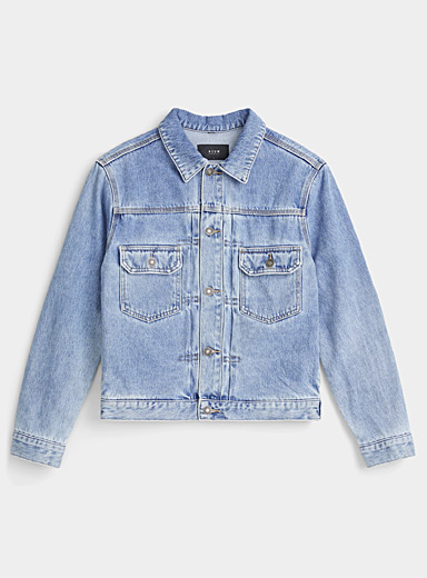 NEUW DENIM Baby Blue Zero jean jacket for men
