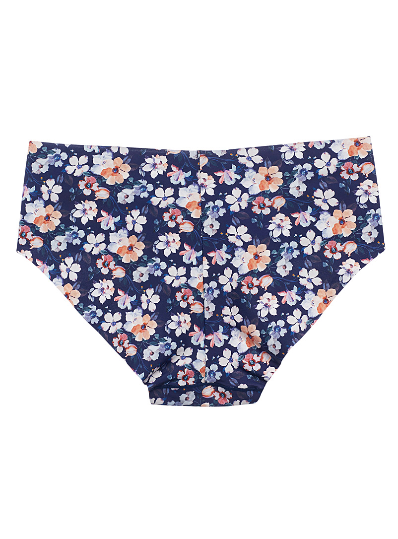 Miiyu Assorted Patterned microfibre hipster for women