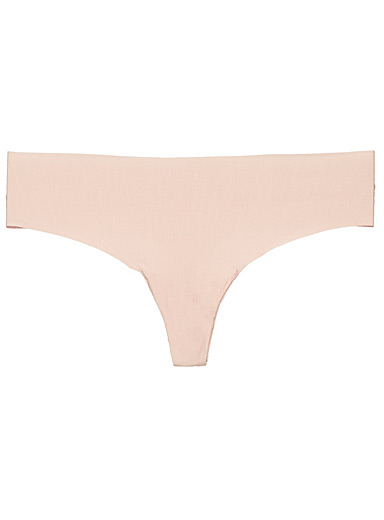 Ultra soft laser-cut thong