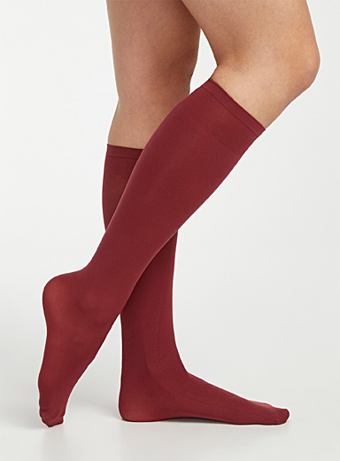Fall microfibre socks
