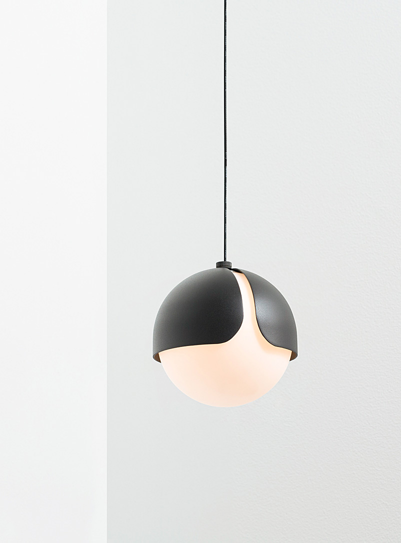 Ohm 01 hanging lamp - Anony - Black